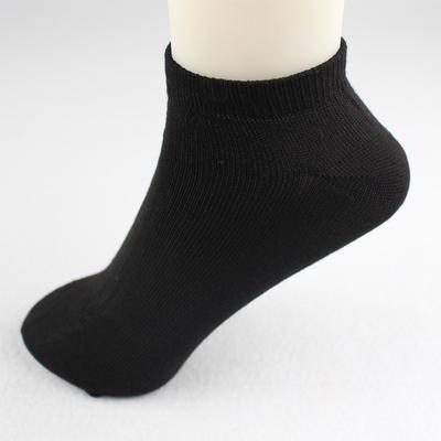 Livraison gratuite es de chaussettes de coton jetables pour hommes Noir et blanc gris Tube court Voyage aller simple Chaussette de voyage