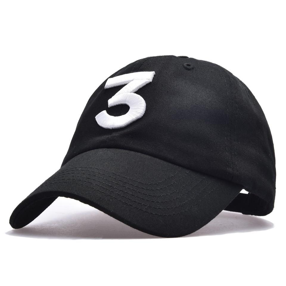 3ce739f1cc8 Chance 3 Rapper Baseball Cap 424 Letter Embroidery Snapback Caps Men ...