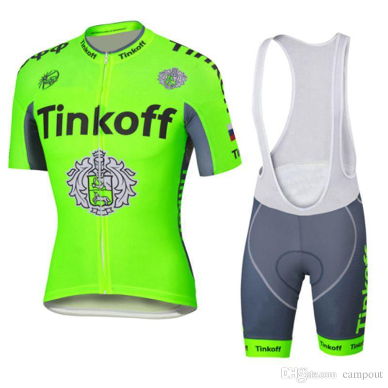 Men Women Green Road Cycling Jerseys Set Short Sleeves + Bike Bib Pants  Size XS 4XL Quick Dry Breathable MTB Ropa Ciclismo Funny Cycling Jerseys  Custom ... 156b5f19e