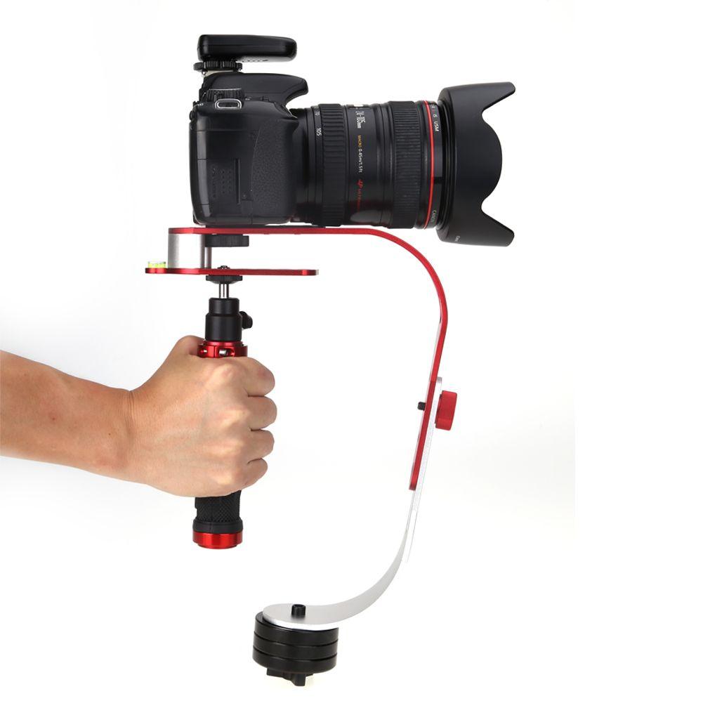 Steadycam Handheld Video Stabilizer Digitaler Kompaktkamerahalter Für Canon Nikon Sony Gopro Hero6 schwarz Hero 5 4 3 Telefon DSLR DV
