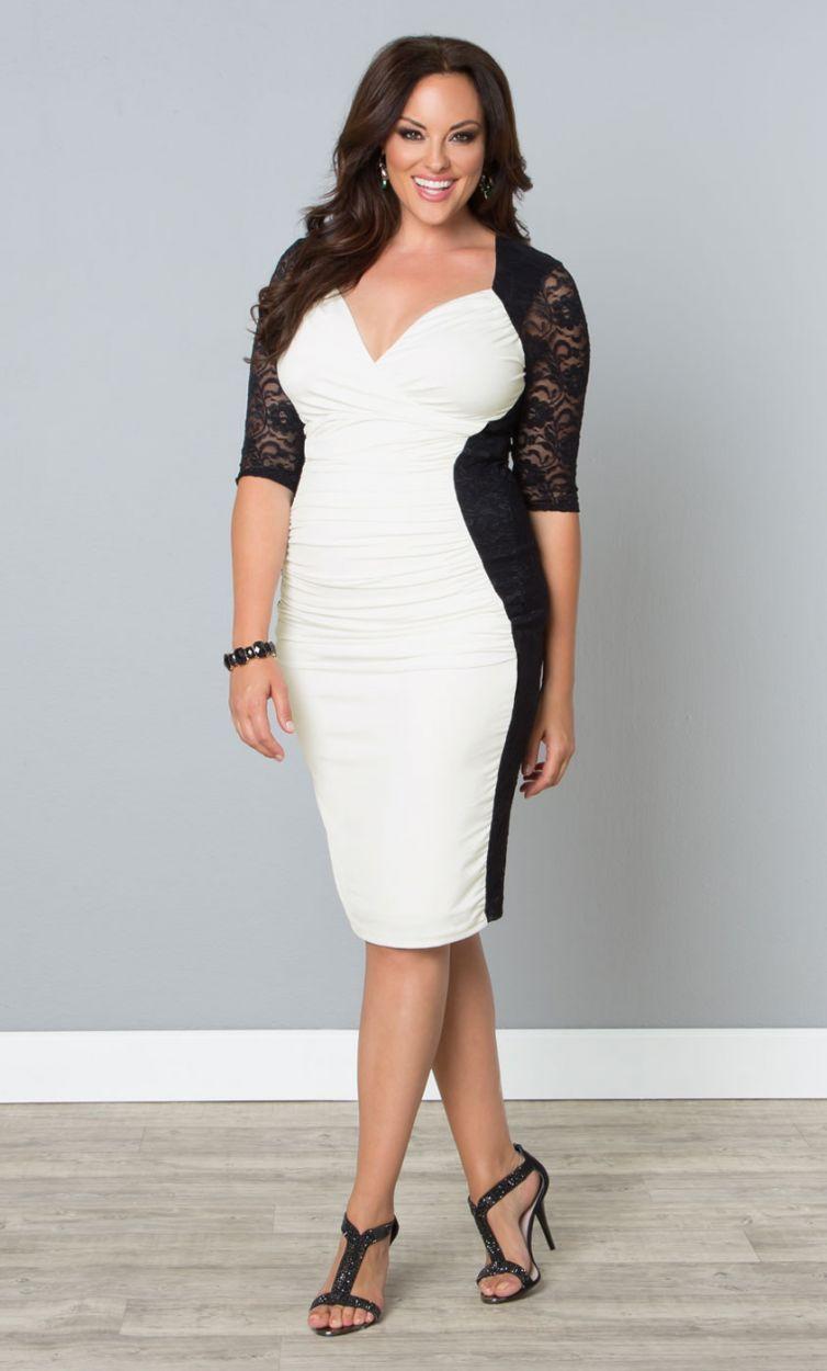 Wholesale Women Plus Size Clothing Xxxl Fashion Sexy V Neck Lace