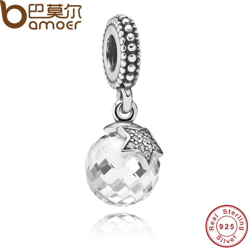 b84db971b 2019 Pandora Style Authentic 925 Sterling Silver Moon & Star, Clear CZ  Charm Pendant Fit Bracelet & Necklace PAS080 From Wendearjewlery, $14.72 |  DHgate.Com