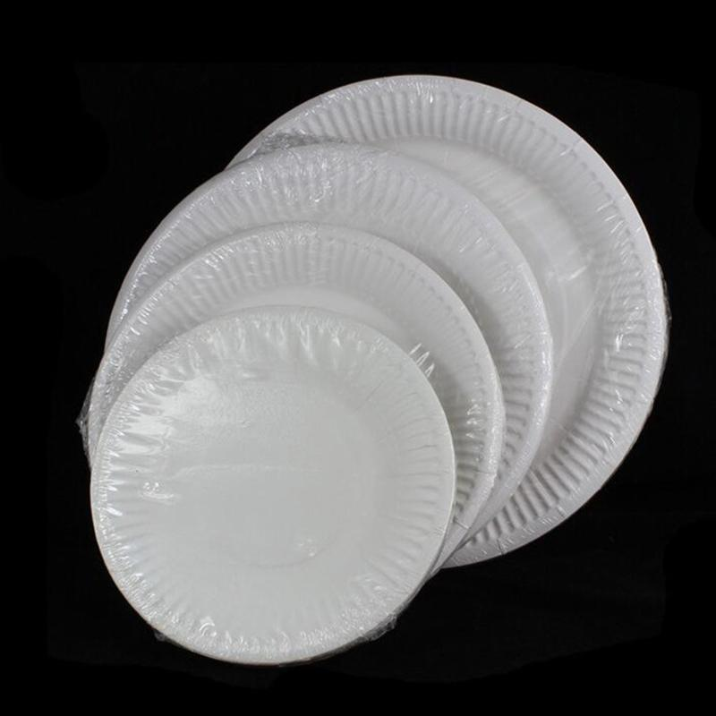 2018 Wholesale Ezlife 6inch 7inch 8inch 9inch Disposable White Paper Plate/Paper Plates/Cake Pan Kt0772 From Linita $20.75 | Dhgate.Com & 2018 Wholesale Ezlife 6inch 7inch 8inch 9inch Disposable White Paper ...