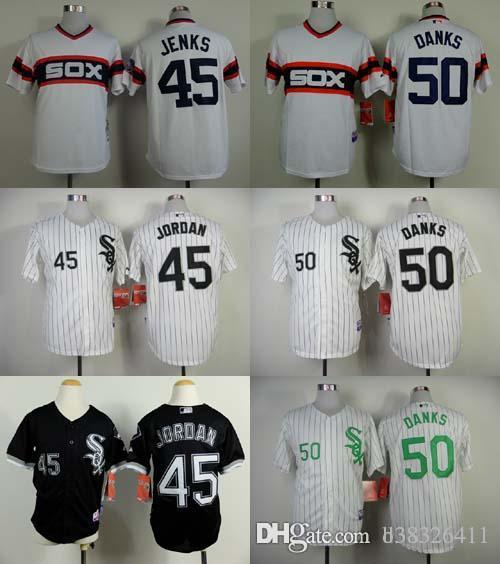 58b799bd515 ... sale mlb jersey chicago white sox mens jerseys 45 michael 50 john danks cool  base baseball ...