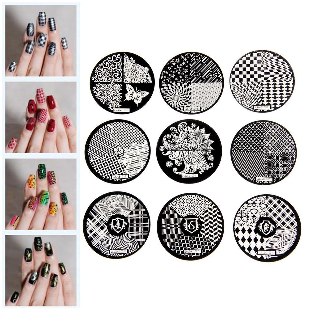 Wholesale Fashion Diy Nail Art Image Stamp Stamping Plates Manicure