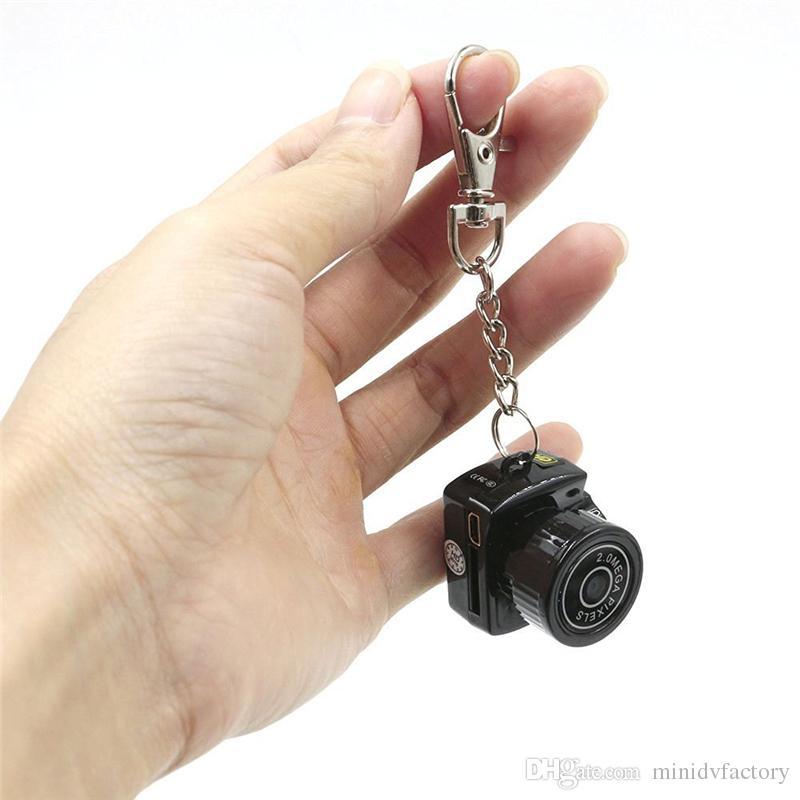 Mini Küçük HD Video Kamera 720 P Mini Cep DVR Taşınabilir Kameralar Mikro Dijital Kaydedici Mini USB DV Y2000 Ücretsiz Kargo