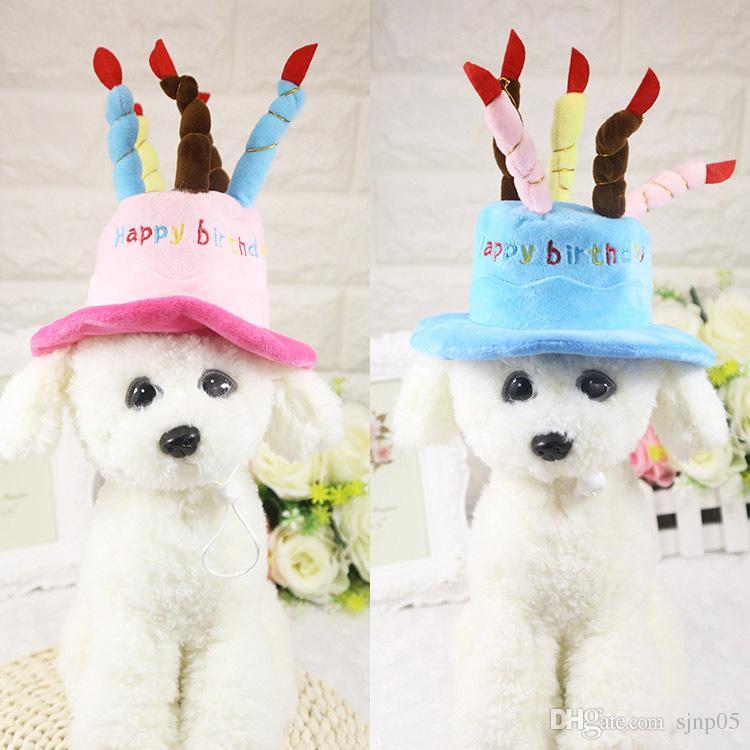 Acquista Cucciolo Di Cane Festa Di Compleanno Cappello Cappello In