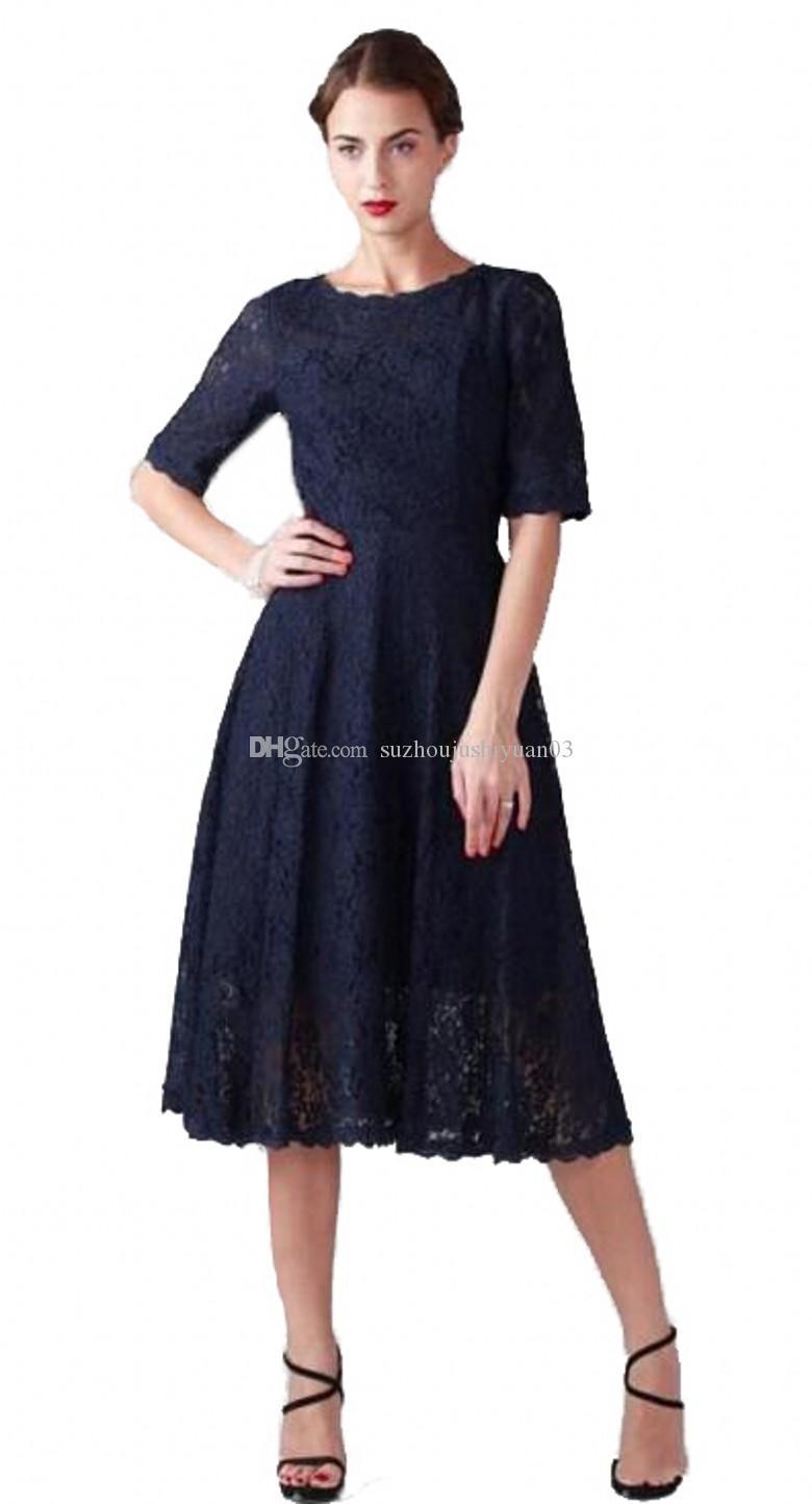 Women\'S Vintage Style Short Lace Prom Dresses Bridesmaid Dresses ...
