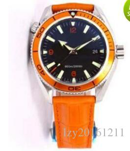 Luxury Watch Fashion watch Planet Ocean leather Mechanical Automatic Strap Watch Man Wristwatch