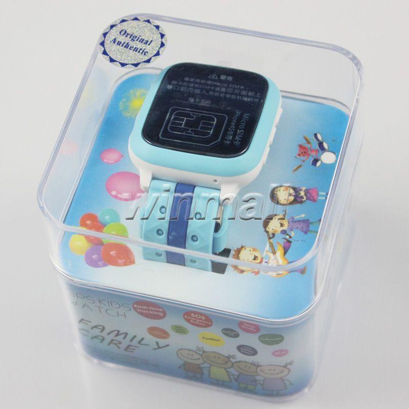 DHL Children Smart Watch GPS tracker For Kids IP65 Waterproof LBS/GPS/Wifi Positioning SOS Anti-lost Device