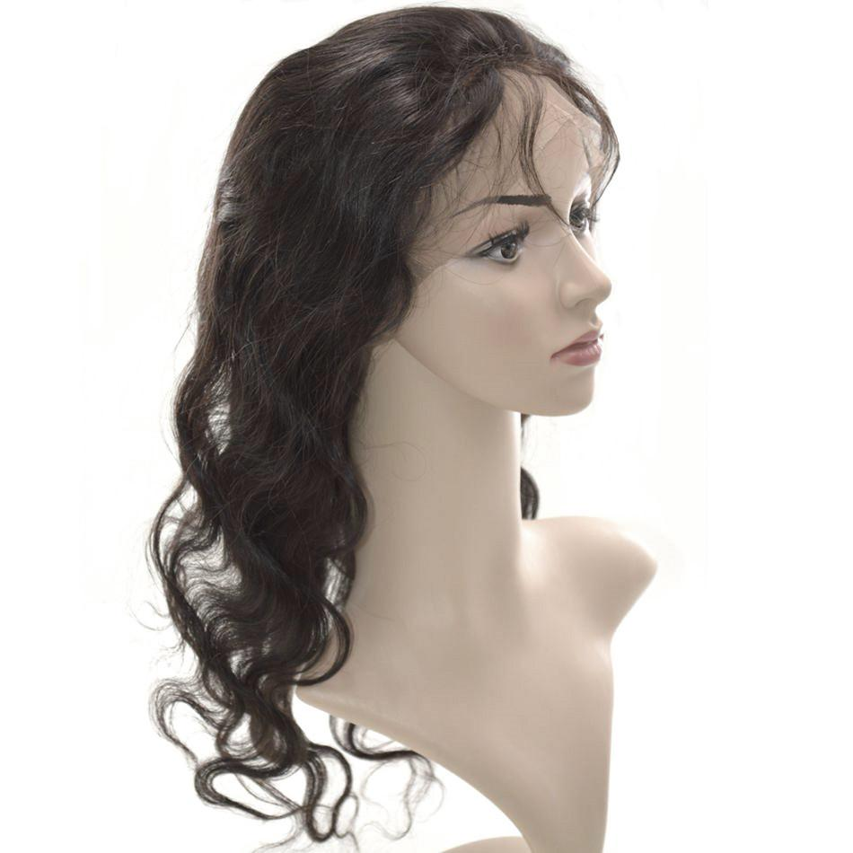 360 encaje frontal peluca 22x4x2 postizos peruanos pelo virgen cuerpo onda encaje frontales G-EASY
