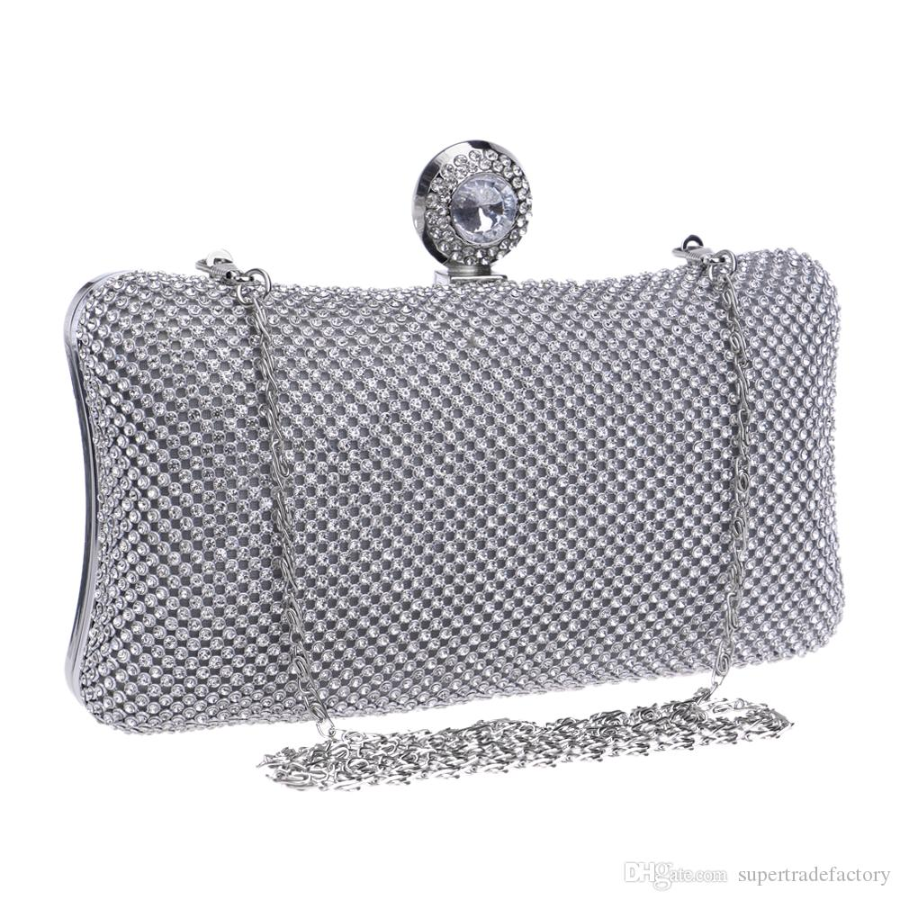 Double Side Rhinestones Women Evening Bags Golden Luxurious Women Evening  Bags Small Purse Clutches Evening Bag for Wedding Online with  27.07 Piece  on ... d4d97c206c48