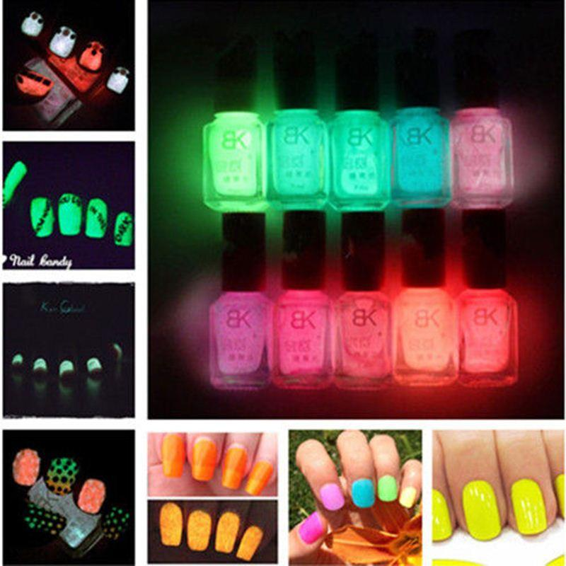 Hot Selling Summer Cool Candy Color Fluorescent Neon Luminous Gel ...