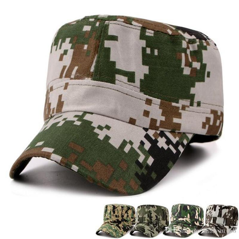 d78eab32541ce Military Army Styles Men Camo Camouflage Men Women Baseball Hats Hunting  Baseball Cadet Casual Battle Caps For Men DHL Free Lids Cap From  Factory top