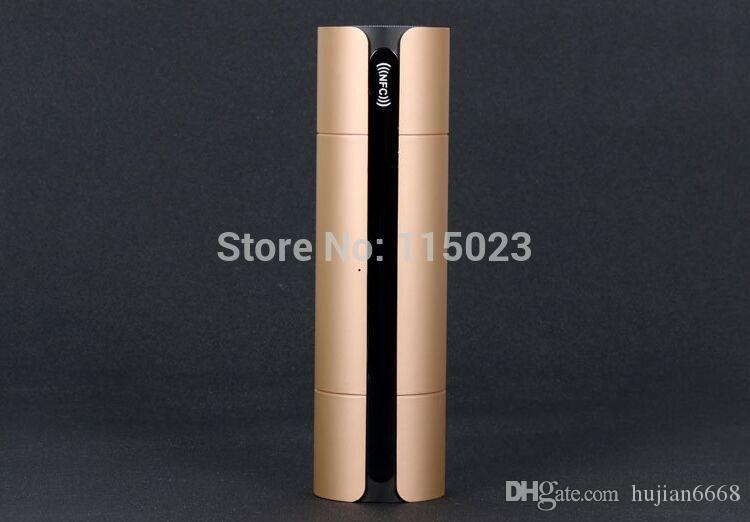 / NFC FM HIFI bluetooth haut-parleur sans fil stéréo haut-parleurs portables blue dent boombox super bass caixa de som système de boîte de son