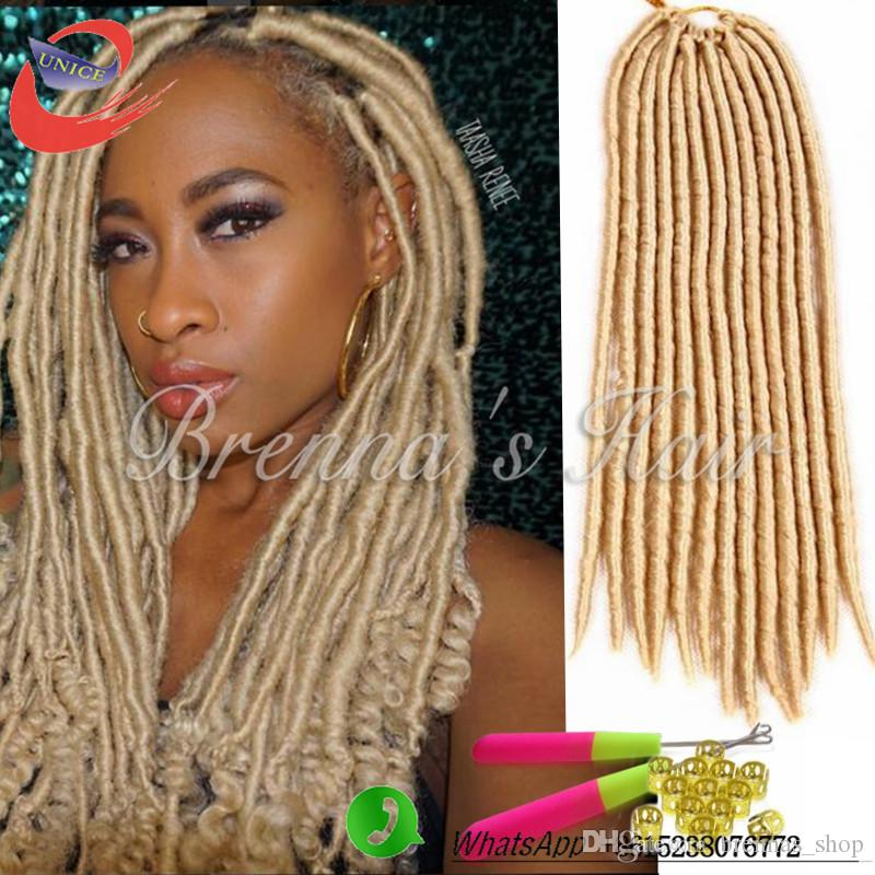 2018 easy install collection hair crochet braids faux locs 613 2018 easy install collection hair crochet braids faux locs 613 crochet hair 18 inch 24 standspack kanekalon synthetic dreadlock hair extensions from pmusecretfo Image collections