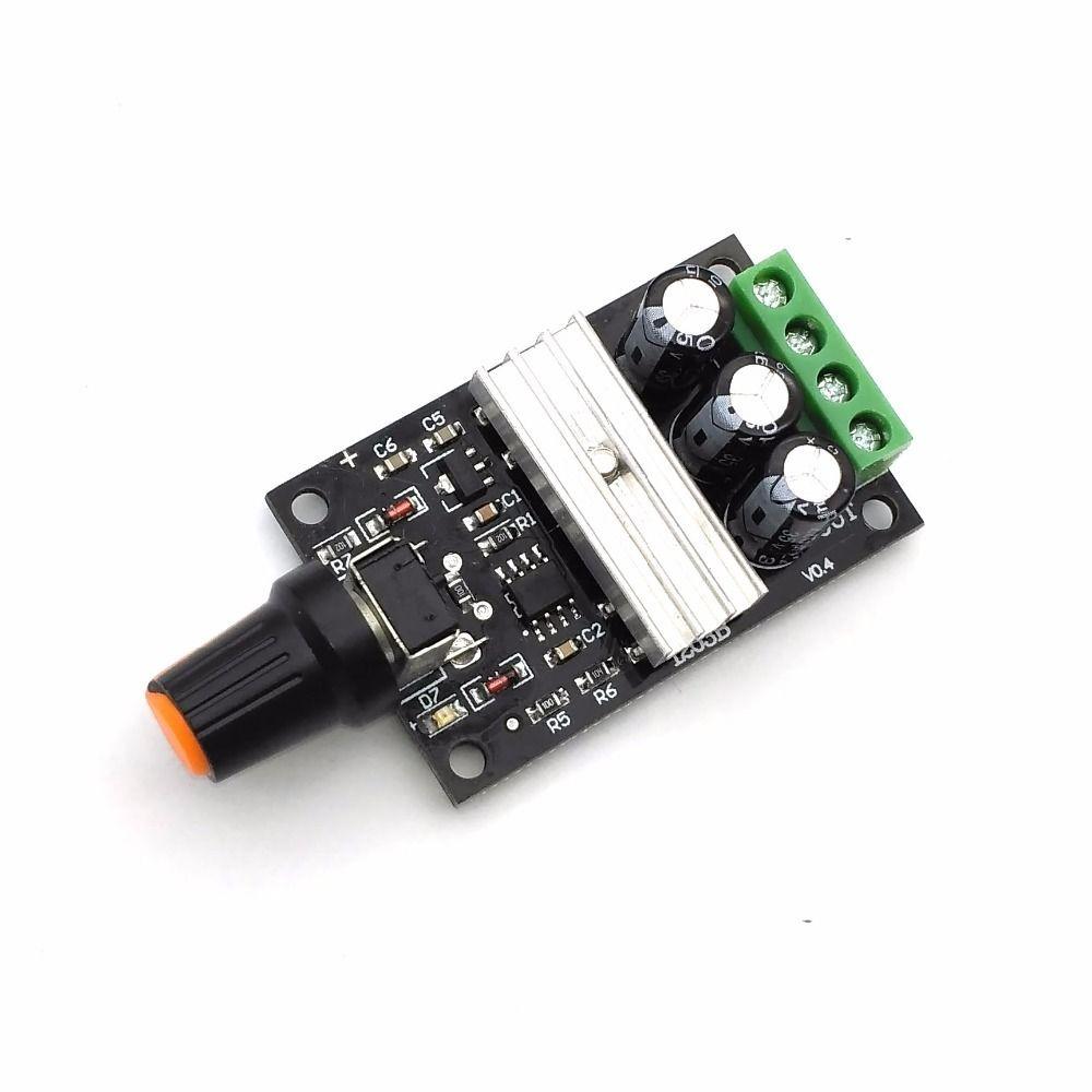 Online Cheap Pwm Dc 6v 12v 24v 28v 3a New Motor Speed Control Switch ...