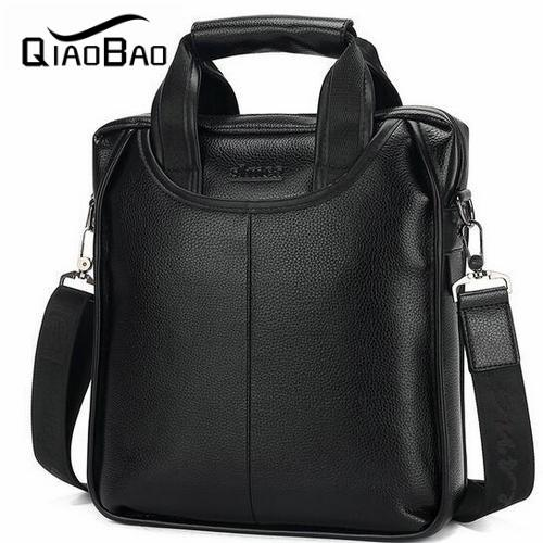 Wholesale-Brand Men Business Casual Men s Handbag Leather Shoulder ... 3d57949c5cfb7