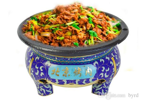 cloisonne Beijing Características churrasqueira mini-forno para o homem simples ou casais 031