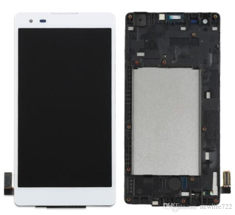 For LG Tribute HD K6B F740 LS676 K200 X style L53BL L56VL Touch Screen Digitizer LCD Display With Frame Full Assembly Screen Replacement
