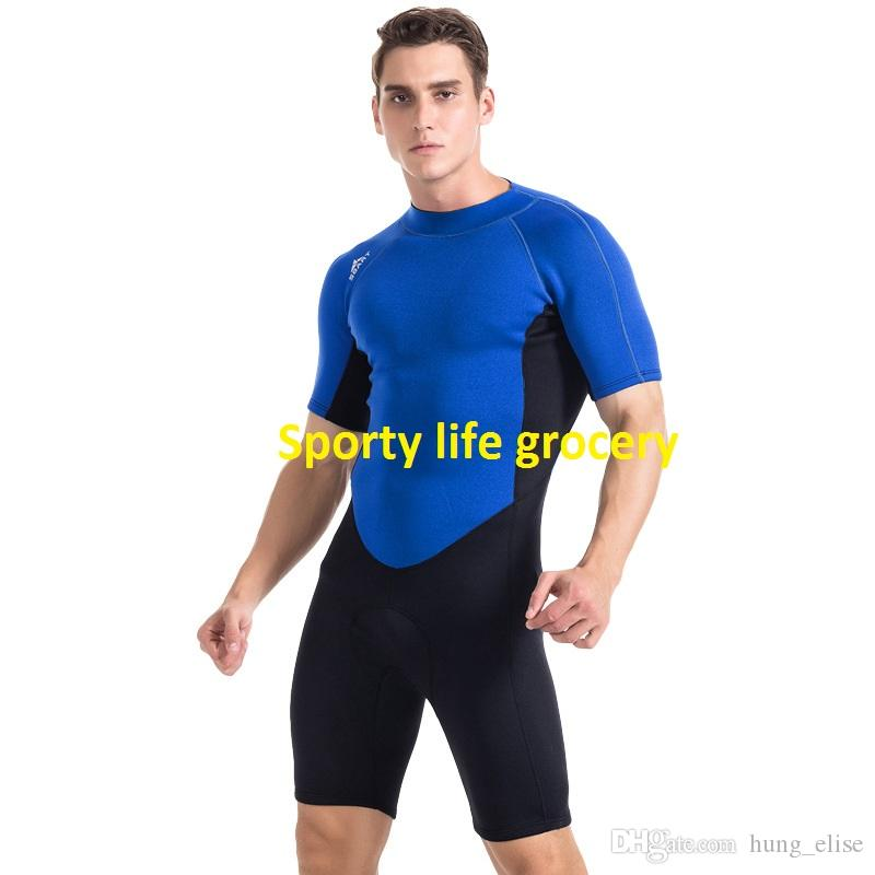 2mm neoprene lovers short sleeve one piece diving wetsuit mens snorkelling wear womens surfing swim suits
