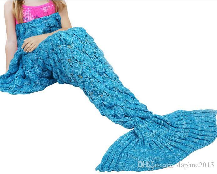 3d Mermaid Tail Blanket Adult 180cm90 Mantas Bedspreads Plaid Mermaid  Envelop Manta Sirena Bed Throws Sofa Kid Sleeping Bags Deken Plaide Red And  White ... 9f55cde7f