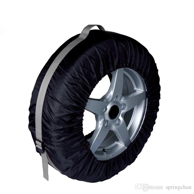 Car Tires Storage Bag Automobile Tyre Accessories Vehicle Wheel Protector Tire Cover Case Polyester makeup organiizor fit