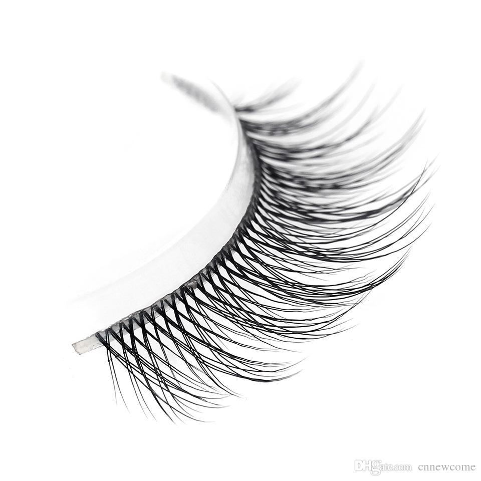 100 Handmade 3d Real Mink False Eyelash Natural Fake Eye Lashes