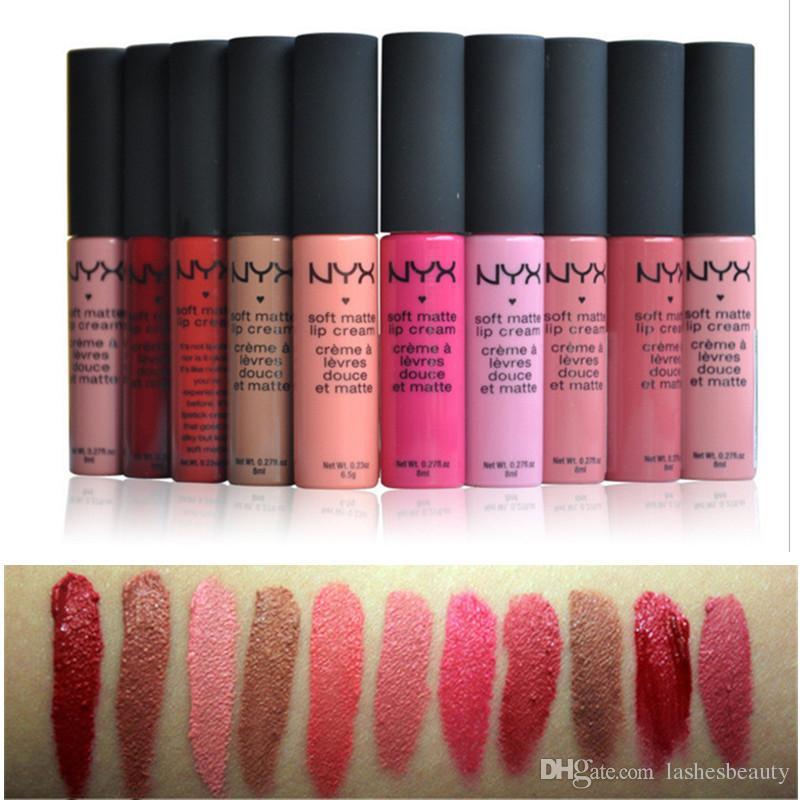 Fabuleux NYX Lipstick Cosmetic Makeup Matte Lipgloss Long-lasting  FZ33