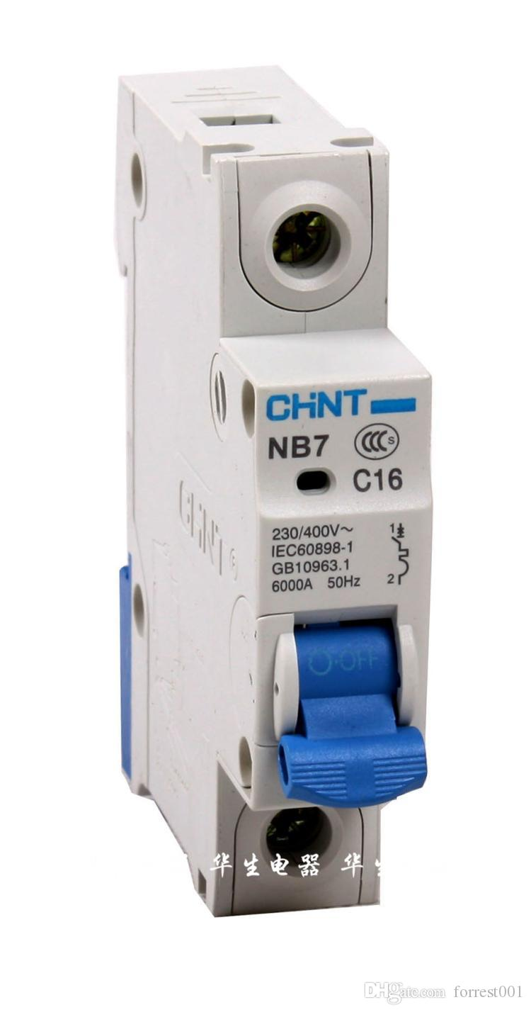2018 Miniature Circuit Breaker Chint Nb1 63 B C3ln 14ln Series House Mcb China High Quality Wholesale Modular Din Rail Prorducts From Forrest001 1709