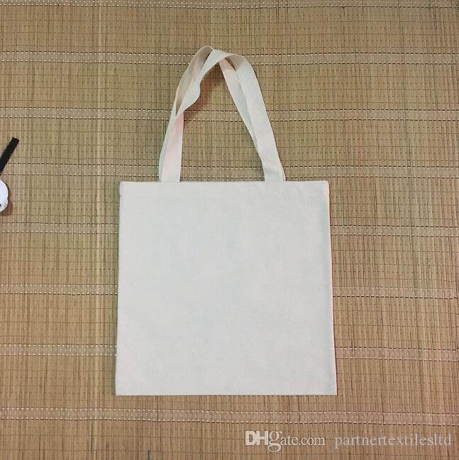 100% Cotton Natural Canvas Totes Bag Diy Printing Blank Totes Bag ...