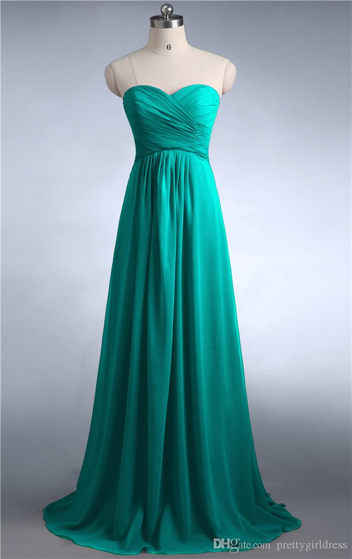 ZJ0039 Burgundy mint green coral jade colored chiffon strapless prom party dresses new fashion 2019 bridesmaid dress long