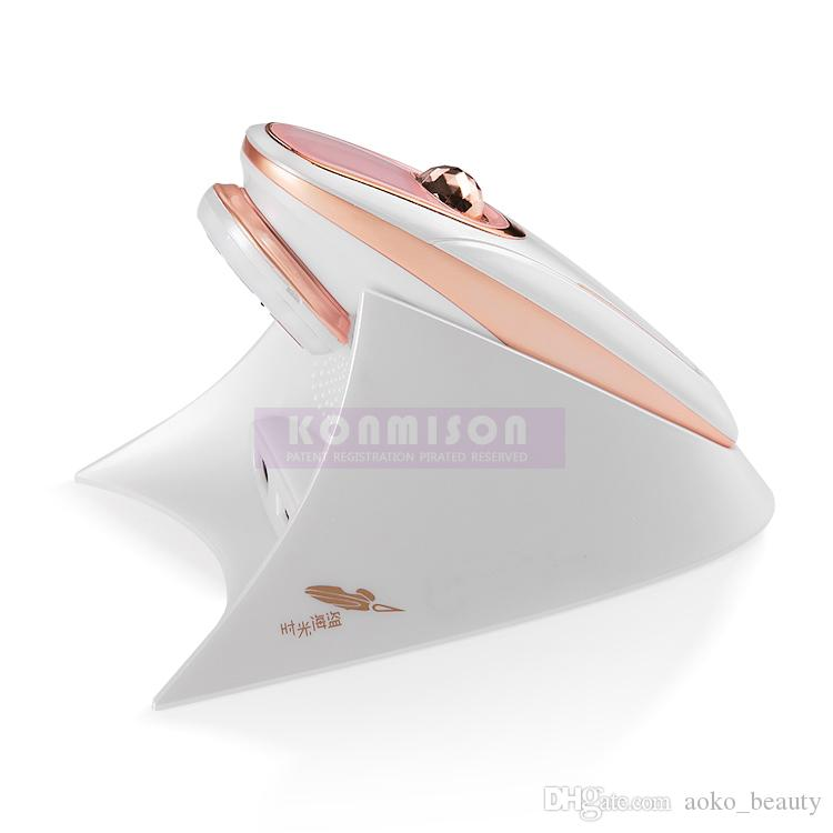 Taşınabilir Hifu Makinesi Ile RF LED Işık Terapi Yüz Germe Için Hifu Ev Kullanımı Cilt Sıkma Mini Hifu