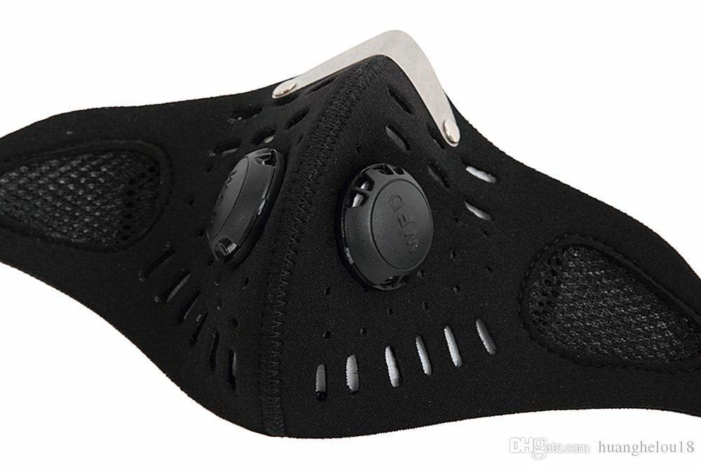 WOSAWE Anti-pollution City Cycling Face Mask Mouth-Muffle Dust Mask Bicycle Sports Protect Road cycling mask cover Protective