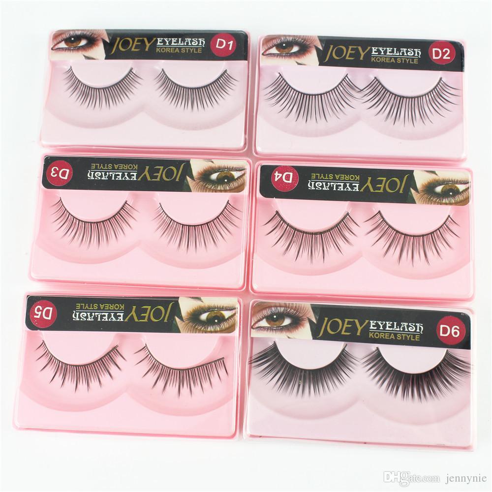 Brand New False Eyelashes Joey Korea Style Natural Long Thick