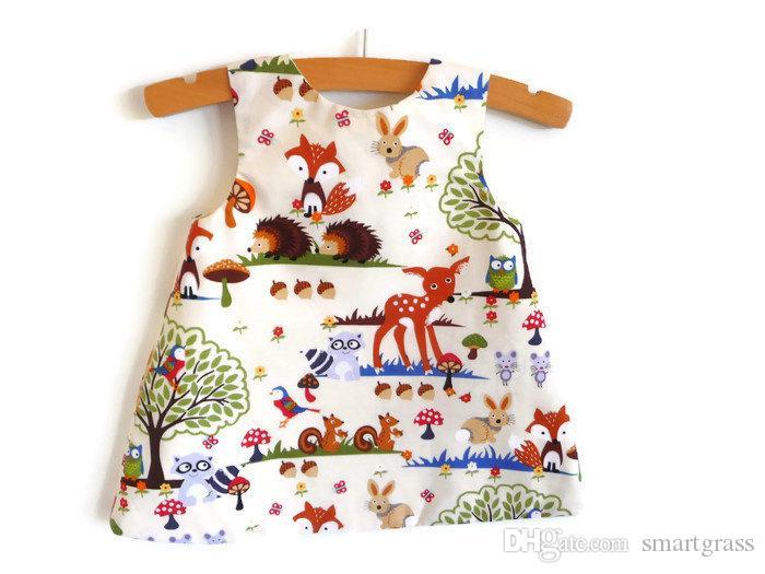 Été 2021 Robe sans manches Ensemble bébé bébé filles Tenues Sets PP Pantalon court avec bandeau 3 Pièces Matching des vêtements de bébé 17040101