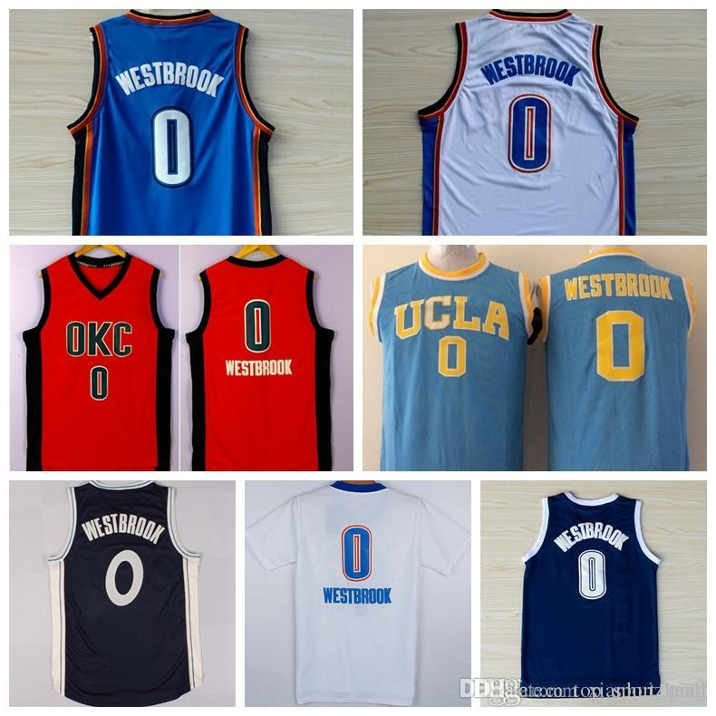 a8716d83a64a5c ... store best quality newest 0 russell westbrook jersey shirt ucla bruins  russell westbrook college uniforms throwback