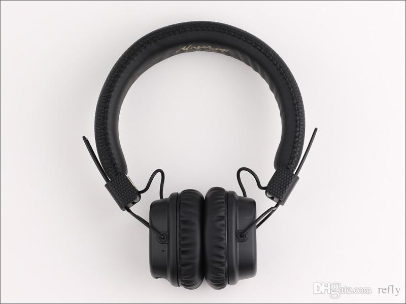 Маршалл майор II в 2.0 Bluetooth для беспроводной беспроводная наушники Маршалл майор II гарнитура наушники DJ студии наушники