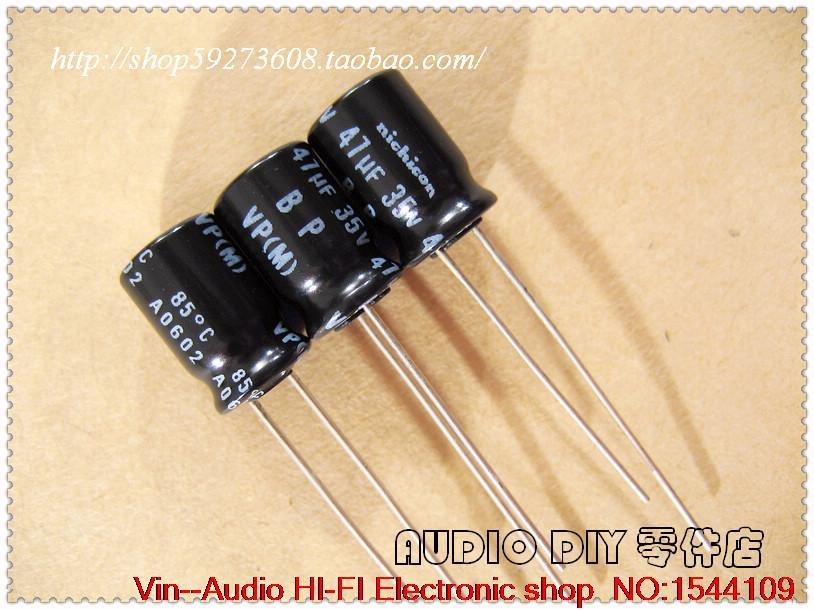 1dd661aab0 2019 VP BP Nichicon Series 47uF 35V Non Polar Electrolytic Capacitors Japan  From A173973473
