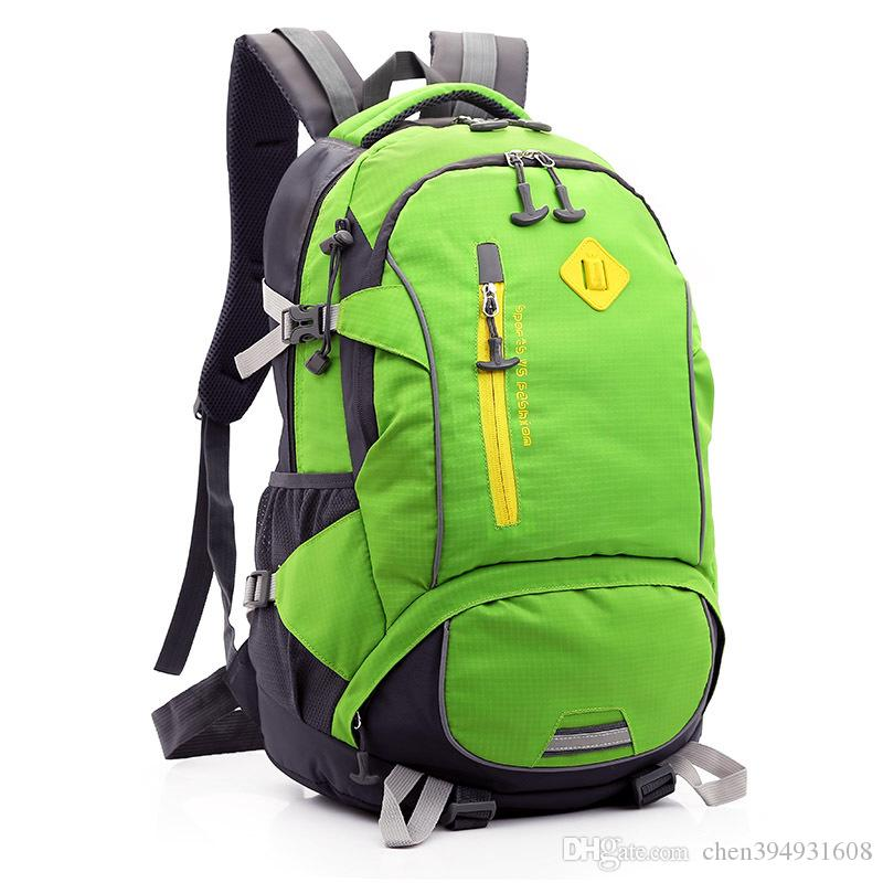 f7e9a489b7 2019 2016 Hot Sale Large Capacity Backpack Outdoor Tourism Lady Bags Hiking  Packages Men S Sport Backpack From Chen394931608