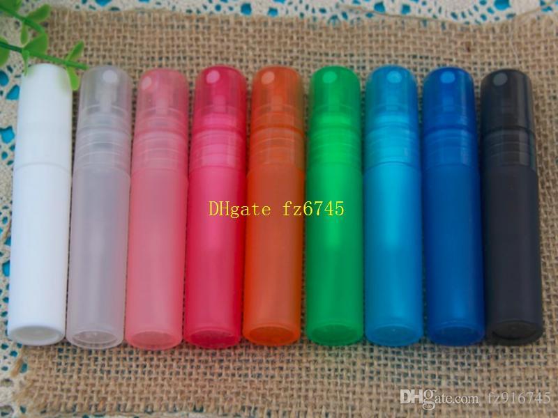 5ml Translucence Plastic Atomizer Bottle Travel Makeup Perfume Spray Refillable Bottles,