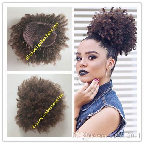 Afro kinky curly weave ponytail hairstyles clip ins brown human afro kinky curly weave ponytail hairstyles clip ins brown human hair ponytails extensions drawstring ponytail short high pony hair100g ponytail long hair pmusecretfo Image collections