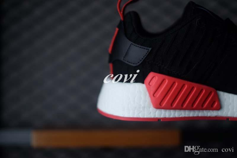 adidas nmd r2 herren schwarz rot