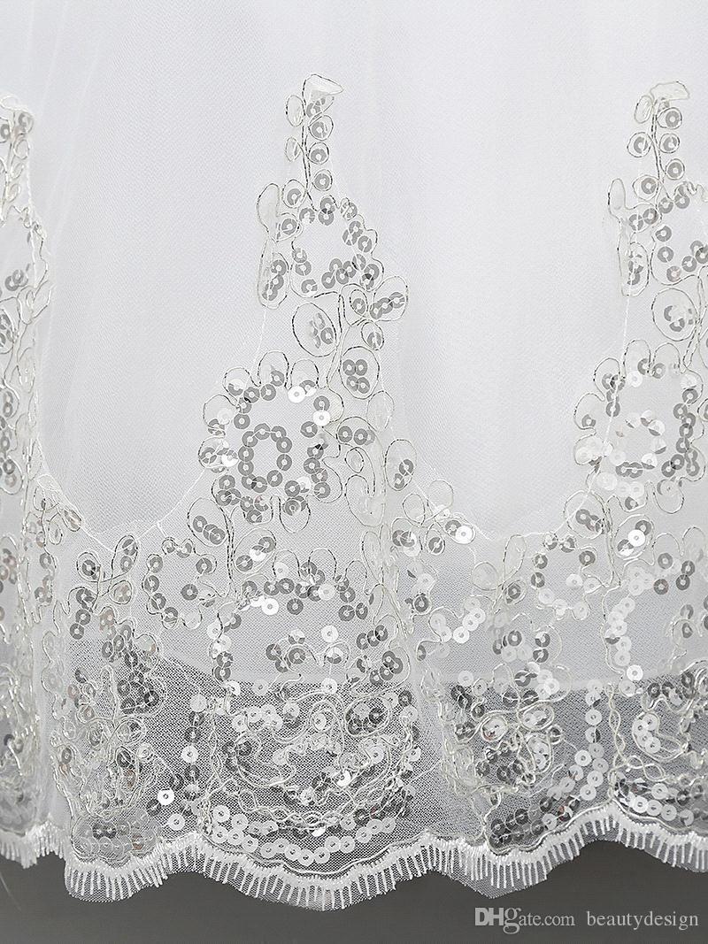 2017 Nouveau Pas Cher Parti Paillettes Fleur Filles Robes Toddler Enfants De Noël Robes De Mariage Parti Vêtements Enfant Tulle Vêtements En Stock MC0280