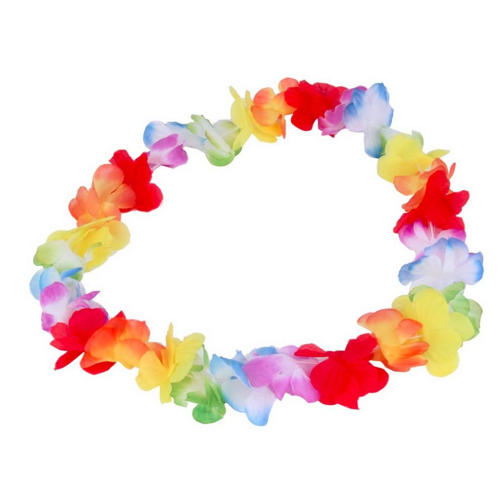 Best wholesale colorful flower garlands hawaiiantropical party best wholesale colorful flower garlands hawaiiantropical party fancy dress necklace 2016 new arrival circumference 96cm under 1829 dhgate izmirmasajfo