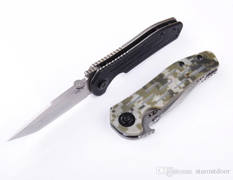 Нулевой терпимости Zt0620 Танто тактический складной нож шарикоподшипник 9cr18 спасения открытый кемпинг охота выживания карманный EDC коллекция инструментов