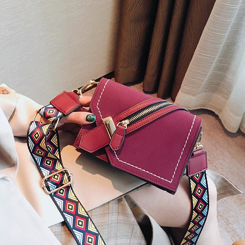 b346550a019 Women Bag Luxury Handbags Female Small Bags Designer Handbag Brand Flap  Color Strap Clutch Fashion Shoulder Bag Popular Messenger Bags