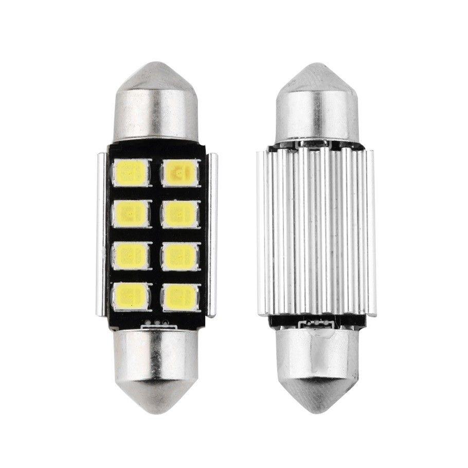 Festoon 8 dôme intérieur d'ampoules de voiture LED de SMD 36MM lampe de toit automatique de feux de feston blanc 12V