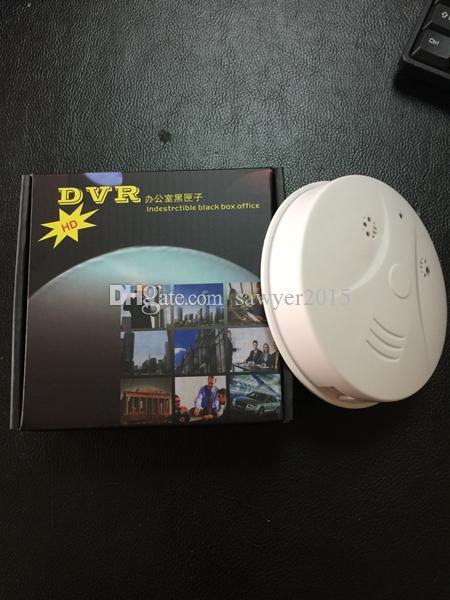 Détecteur de fumée WiFi sans fil Mini caméra HD 1920 * 1080P Détecteur de fumée Vidéo caméscope avec détection de mouvement Home Security DVR