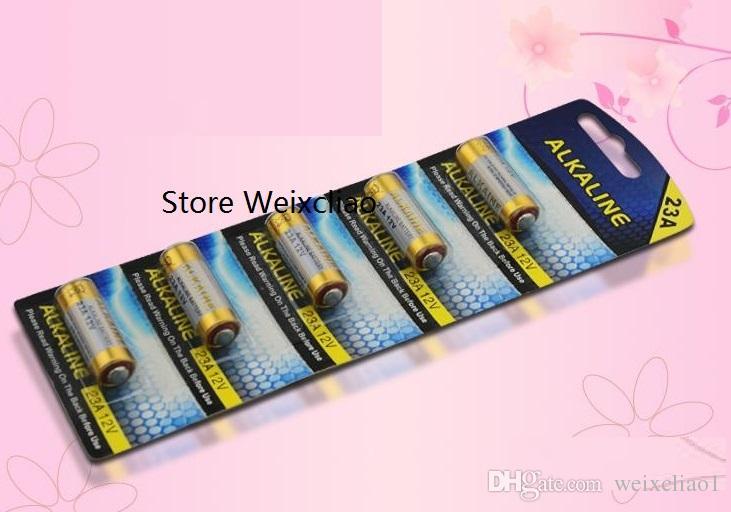 10шт 1 лот 23А 12В 23A12V 12V23A L1028 щелочные батареи сухие батареи 12 Вольтов карты бесплатная доставка